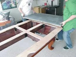 Pool table moves in Utica New York